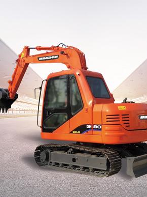斗山组装挖掘机